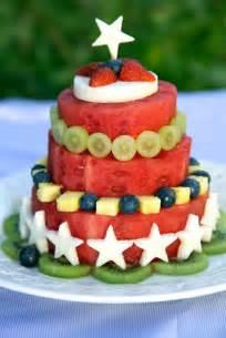 kuchen aus obst fresh fruit watermelon cake