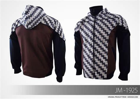 desain jaket warna coklat jual jaket batik pria parang series bagian 2
