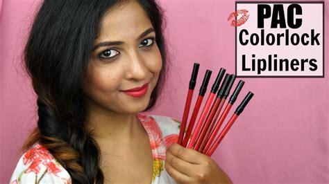 Lip Liner Pac new pac colorlock lasting lipliners review