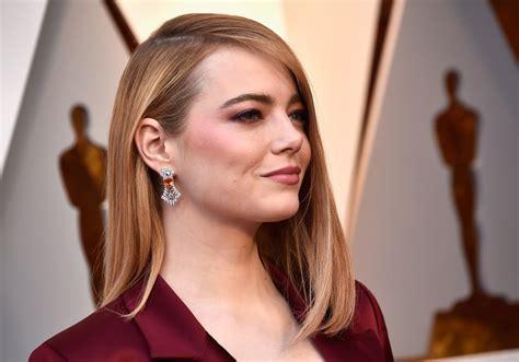 emma stone earrings emma stone oscars jewelry and accessories 2018