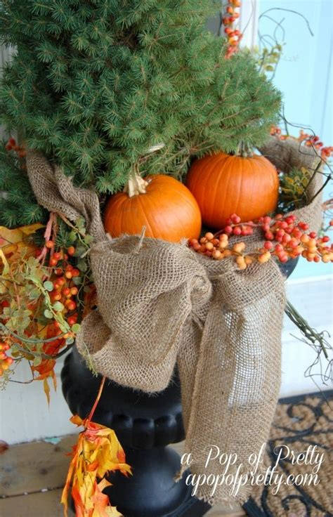 Fall Yard Decorations Thanksgiving 1000 Ideas About Outdoor Fall Decorations On