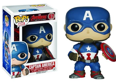 Original Funko Pop Marvel Captain America With Photon Shield 159 funko age of ultron pop vinyls photos revealed
