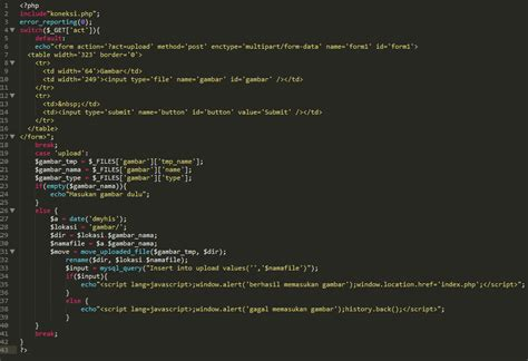 membuat upload foto dengan php mysql upload file foto dengan php mysql web labs paysal kharis
