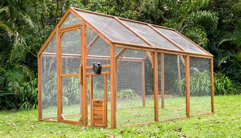build a backyard chicken coop cheap image mag