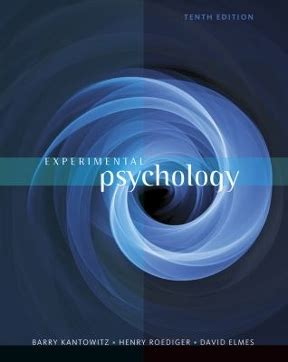Psychology 10th Edition experimental psychology 10th edition rent 9781111357993