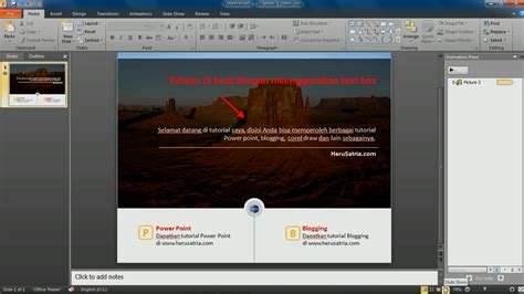 membuat tilan ppt lebih menarik membuat slide powerpoint yang simpel menarik dan dinamis