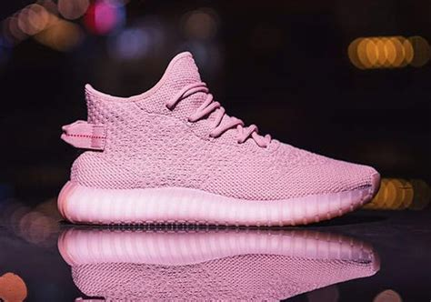 a pink adidas yeezy boost sle appears sneakernews