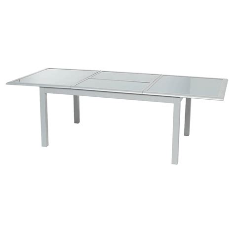 table pliante en verre beautiful table jardin extensible alu verre gallery