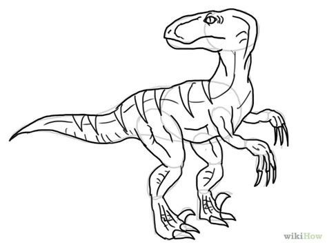 doodle dinosaur draw ruptor 5 ways to draw dinosaurs wikihow