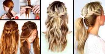 best way to braid hair for a sew in 30 cute and easy braid tutorials that are perfect for any