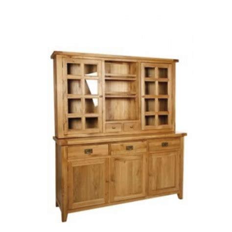 oak buffet and hutch chiltern grand oak 3 door buffet and hutch 1850mm