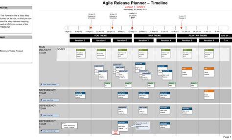 Download The Scrum Agile Release Plan Visio Agile Feature Template