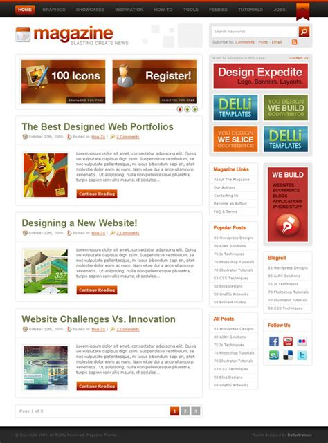 blogs design a rundown of wordpress blog design services we offer