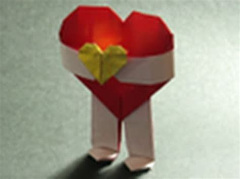 Day Origami Ideas - origami valentines day origami will