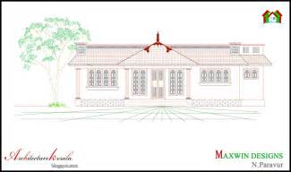 kerala house single floor plans with elevations 3 bhk single floor kerala house plan and elevation