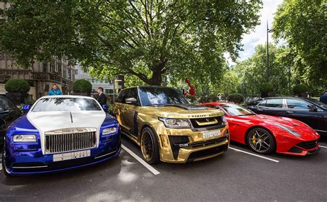 rolls royce supercar gold ferraris and bodacious bugattis how london became a
