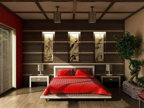 Feng Shui Colors For Bedroom D 233 Coration Chambre Style Asiatique
