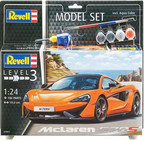 Modellbausatz Auto revell modellbausatz auto mit zubeh 246 r 187 model set mclaren