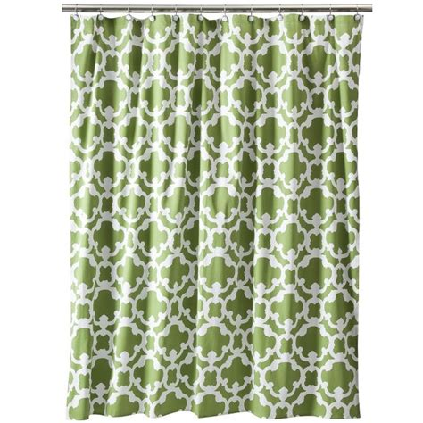grid shower curtain threshold home grid shower curtain brown