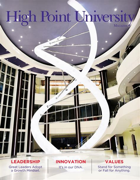 high point 2017 high point university magazine fall 2017 by high point
