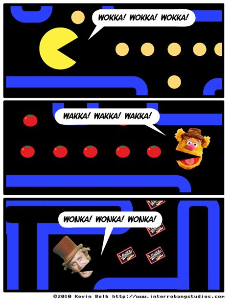 Pacman Memes - wokka wakka wonka pac man know your meme