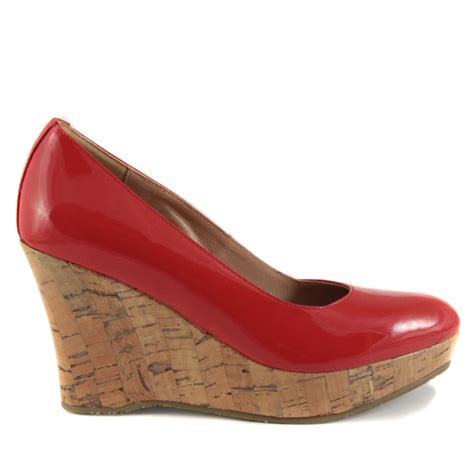 buy vanilla moon candice patent wedge shoe