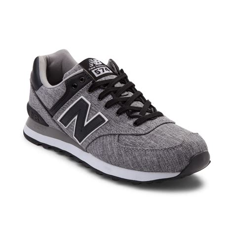 New Balance 574 Kode L55 best price new balance 574 mens black grey d7f6d d473e