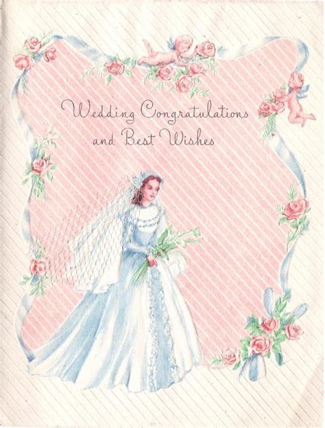 Wedding Congratulations And Best Wishes by Wedding Congratulations And Best Wishes Blue Ribbon Roses