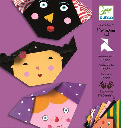 Djeco Origami - origami visages djeco avenue des jeux