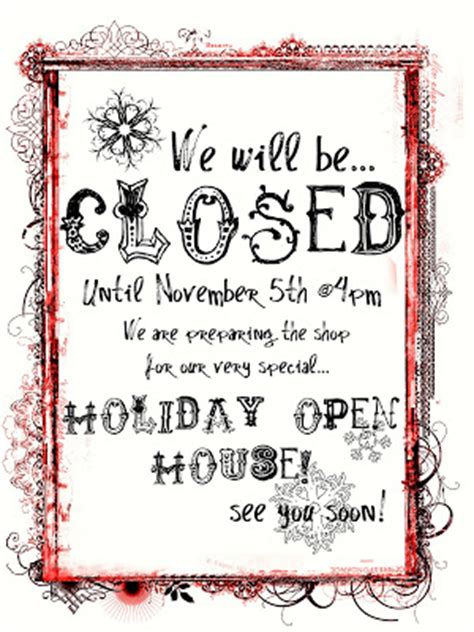 closed for christmas signs video search engine at search.com