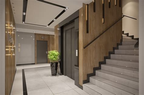 Foyer Of Building by Interior Design Of Apartments Building Entrance Area