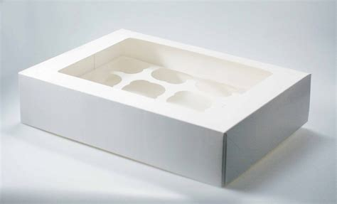 white cupcake boxes with window white cupcake boxes southern chion tray 23033