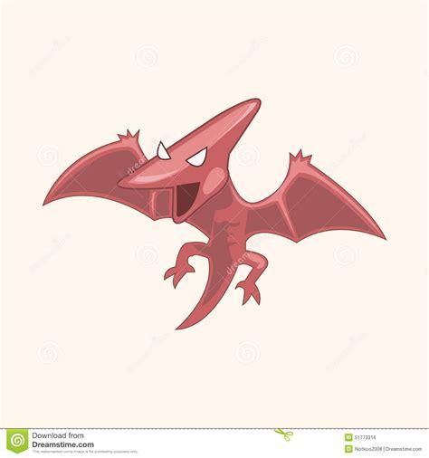 cartoon themes vector dinosaur cartoon theme elements vector eps stock vector
