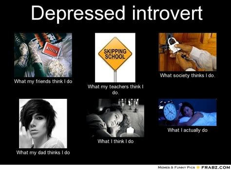 Depressed Meme Generator - depressed introvert meme generator what i do