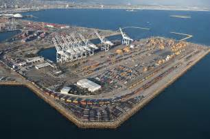 ports of los angeles and oakland see annual gains in