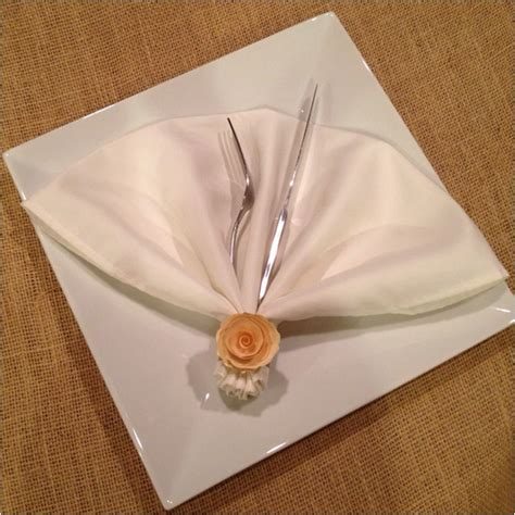 Fan Fold Paper - 1000 images about napkins tables on napkin