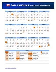 Calendar 2018 Ontario Holidays 2016 Canada Holidays Calendar Freewordtemplates Net