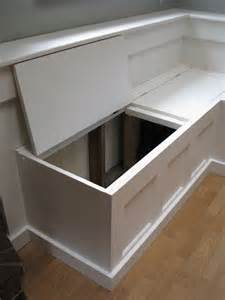 hinged top for banquette home design nooks