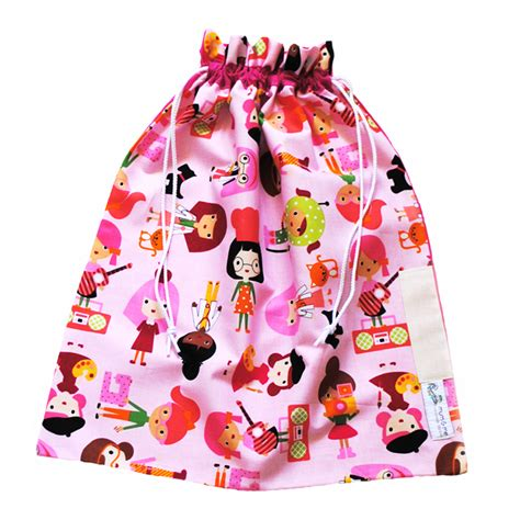 library bag pattern drawstring library bag drawstring career girls lib111 mum and