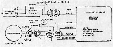 duraspark wiring diagram ford duraspark wiring diagram a turn of the nut