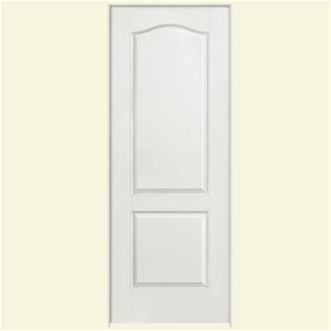 home depot 2 panel interior doors masonite 32 in x 80 in textured 2 panel arch top hollow
