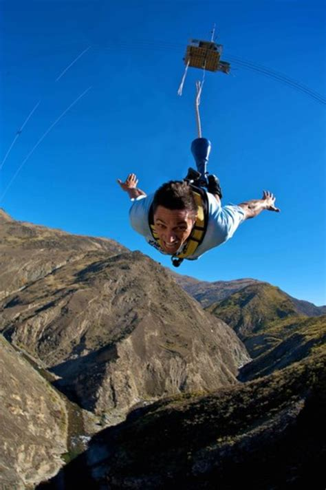 nevis bungy swing aj hackett bungy nevis highwire queenstown region nz