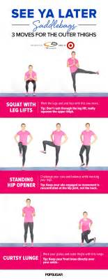 Outer Thigh Workout At Home Saddlebag Workout On Outer Thighs Outer Thigh