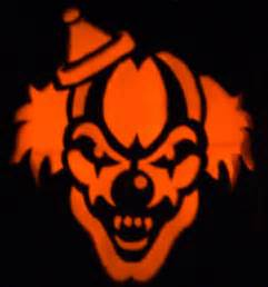 evil pumpkin template evil clown stencils scary clown s fright