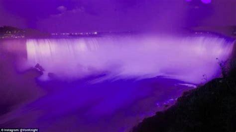 water light in vegas prince tributes from niagara falls to vegas high roller as
