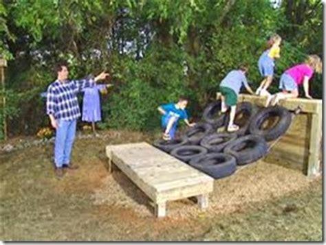 backyard obstacle course ideas pista americana
