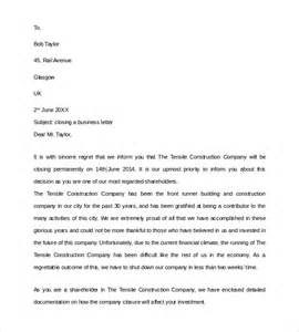 cover letter closure sle closing business letter 7 documents in pdf word