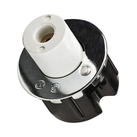 T8 L Sockets by Leviton 516 Plunger End Lholder T8 T12