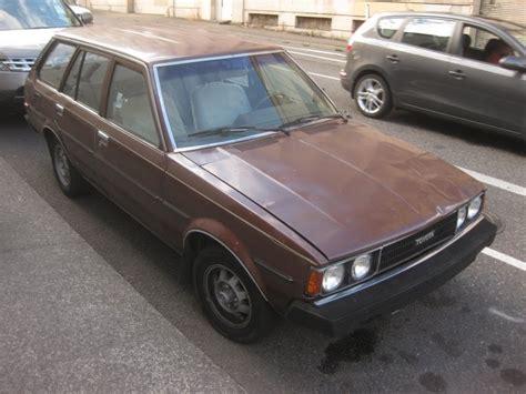 1980 Toyota Corolla Wagon Parked Cars 1980 Toyota Corolla Deluxe Wagon