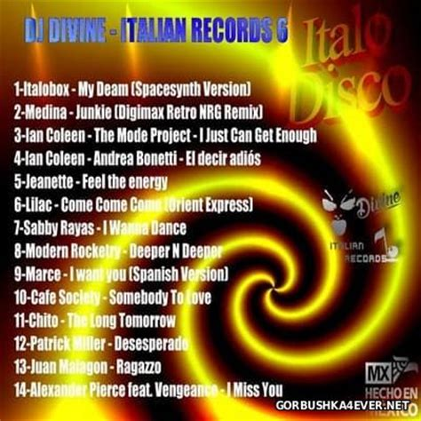 Italian Records Dj Italian Records 6 2016 7 November 2016 Gorbushka4ever